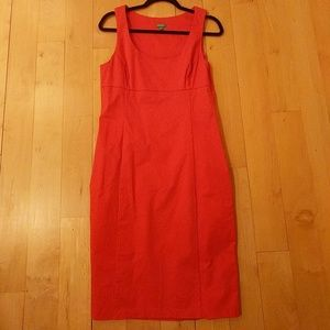 United Colors of Benneton Red Midi Dress